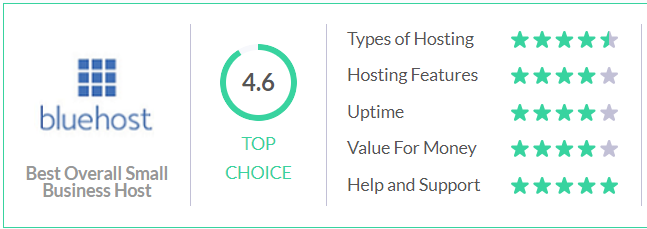 Best Web Hosting For Small Business 2021 bluehost