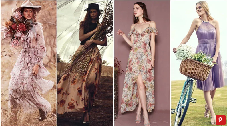 What To Wear To A Wedding For Women's (2021) Country Wedding Attire for Guests